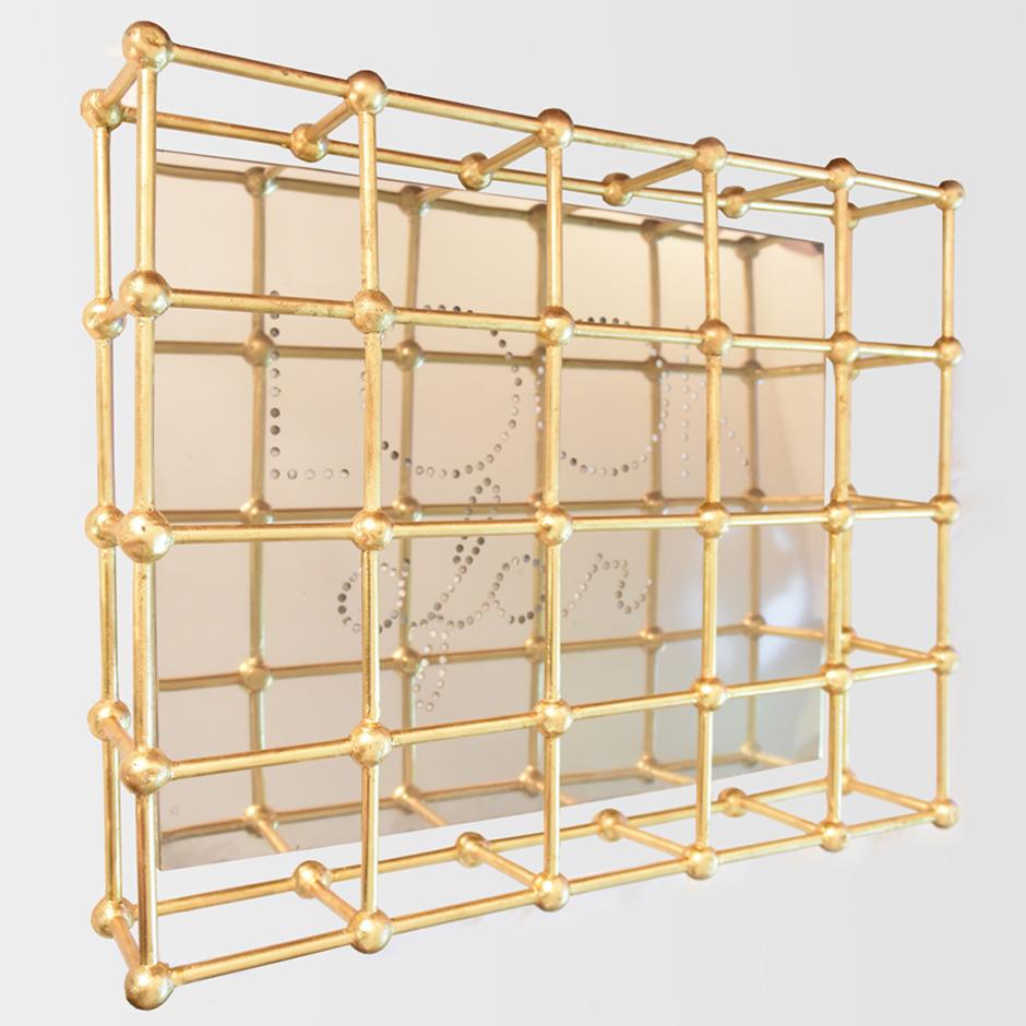 Chiara DynysGold Cage Look Afar